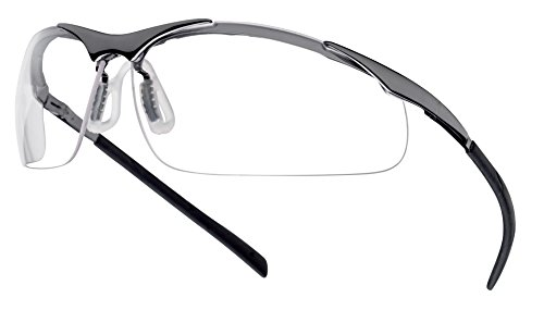 Bollé - Bolle Safety Glasses Contour Clear - Metal Frame