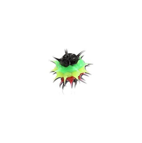 Bubble Body Jewelry Silicone Spikey Ball 1.6mm Gauge 14g 1/16