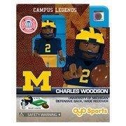 - NCAA Oyo Sports Michigan Wolverines Charles Woodson Mini Figurine / One Size / Multi / NCAA