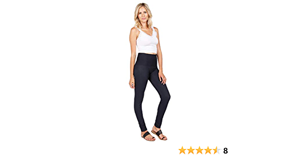 M.Rena Women/'s Tummy Control Stretch Skinny Long Denim Leggings Jeggings.
