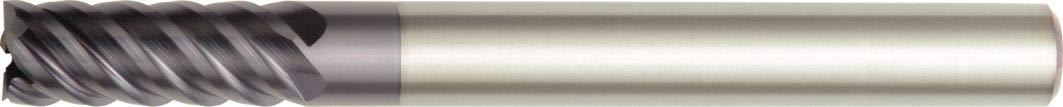 TiAlN Coating WIDIA Hanita 754504002LT Vision Plus 7545 HP Hard Material End Mill Straight Shank 4-Flute RH Cut 4 mm Cutting Diameter Carbide