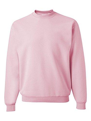 - Jerzees Men's NuBlend Crew Neck Sweatshirt, Classic Pink, Small
