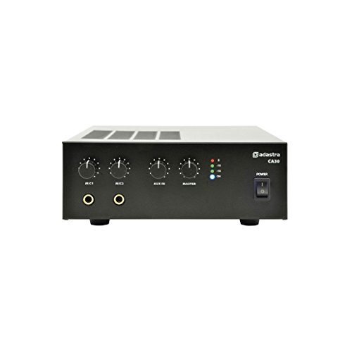 CA-SERIES COMPACT 100V LINE MIXER-AMPLIFIERS by Adastra