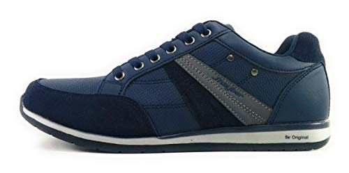 Chafito Para Hombres Azul J´hayber Casual Zapatillas fYqfpw