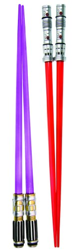 Star Wars Lightsaber Chop Sticks Set