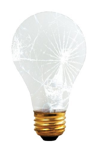 Bulbrite 75A/RS/TF 75-Watt Incandescent Standard A19 Rough Service and Shatter Resistant, Medium Base, Frost [12 Pack]