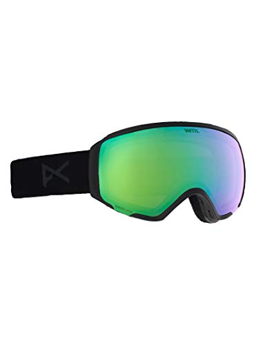 Anon Women's Asian WM1 Goggle with Spare Lens, Smoke ()