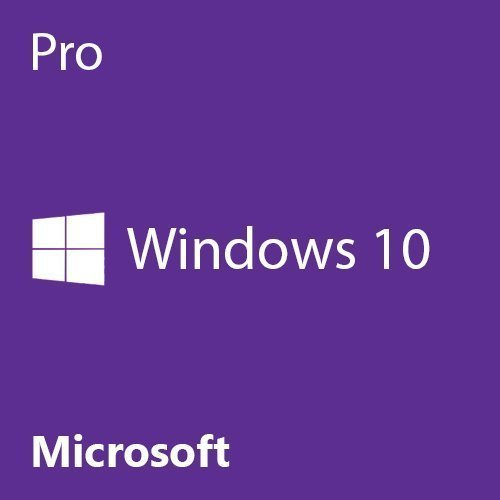 Windows 10 Pro 64 Bit System Builder OEM | PC Disc by Microsoft Software