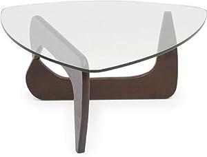Urban Ladder Noguchi Solid Wood Table (Dark Walnut)