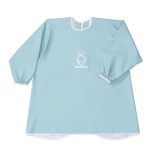 BABYBJORN Eat & Play Smock - Turquoise (Baby Bjorn Pack And Play)