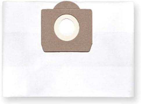 1x Bolsa reutilizable con cremallera para aspirador tejido Fadi Professionnel 90 Liter