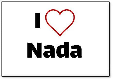 Mundus Souvenirs - Amo Nada, Imán para Nevera (diseño 3): Amazon ...