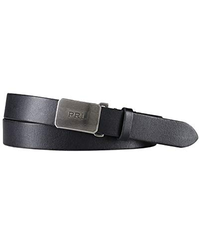Polo Ralph Lauren Engine-Turned Leather Belt-B-32/80