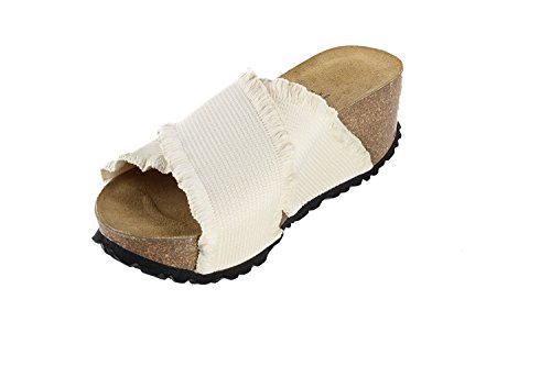 Size Slippers EU Footbed JOE Women M4 37 Sandals JOYCE N US W6 Soft Creme Elastic Tokio WxqAPv8Fwq