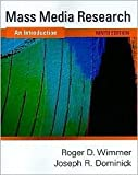 img - for Mass Media Research: An Introduction 9th (nineth) edition Text Only book / textbook / text book