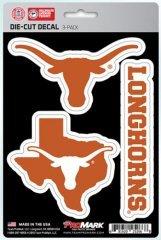 Texas Longhorn Decal - 1