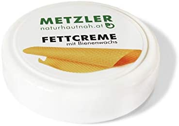 METZLER Kinder-Fettcreme - Natürlicher Hautschutz, Für Die Empfindliche Babyhaut Im Windelbereich, 1er Pack(1 x 100 ml)