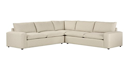 Ordinaire Stone U0026 Beam Hoffman Down Filled Performance Sectional Sofa, ...