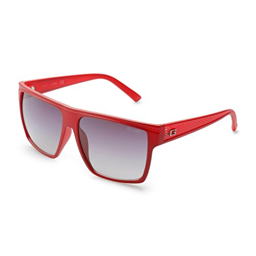 GUESS Unisex GF0158 Matte Red/Gradient Smoke One Size