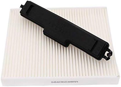 Hewen Luftfilter Innenraumluftfilter Kit For Dodge Ram 1500 2500 3500 Kabinenluftfilter Filterzugangstür 68052292aa 68318365aa Tauschluftfilter Küche Haushalt