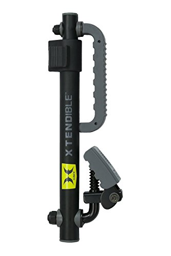 Treestand Gun Holder (Hawk Xtendible Bow Arm - Sturdy Equipment Holder for Hunting, Treestands, Ladderstands - Screws into Tree to Securely Hang Crossbow, Backpack, and More (Updated Version))