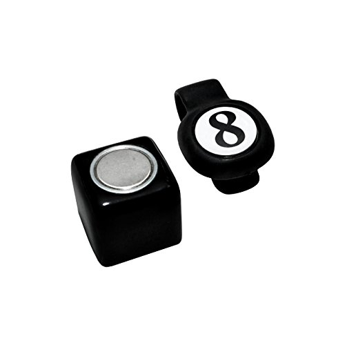 (Magnetic Billiard Chalk Holder with Earth Magnet)