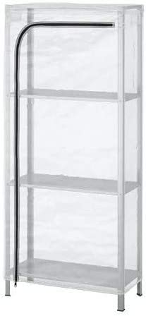 HYLLIS IKEA - Estantería con Cubierta Transparente, para Interior y Exterior, 60 x 27 x 140 cm: Amazon.es: Juguetes y juegos