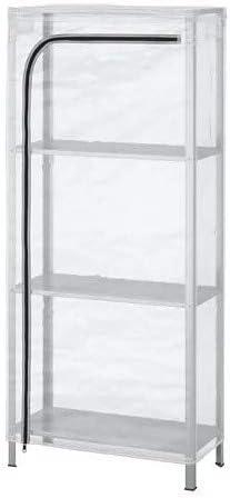 HYLLIS IKEA - Estantería con Cubierta Transparente, para ...