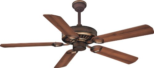 Minka-Aire F588-SP-BCW, Ultra-Max Belcaro Walnut 54 inch Ceiling Fan with Wall & Remote - Minka Fan Walnut Ceiling