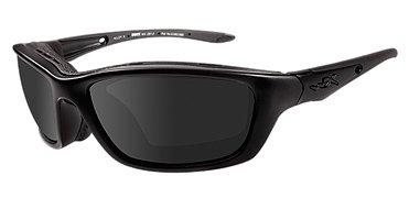 (Wiley X Brick Sunglasses, Smoke Grey, Matte Black)