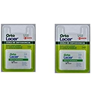 Lacer ortolacer cera ortodoncia pack 2x7 barras