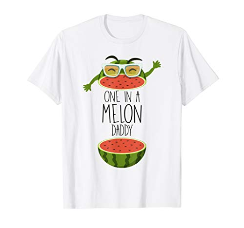Mens You're One In A Melon Birthday Outfit Party Shirt Ideas Gift -