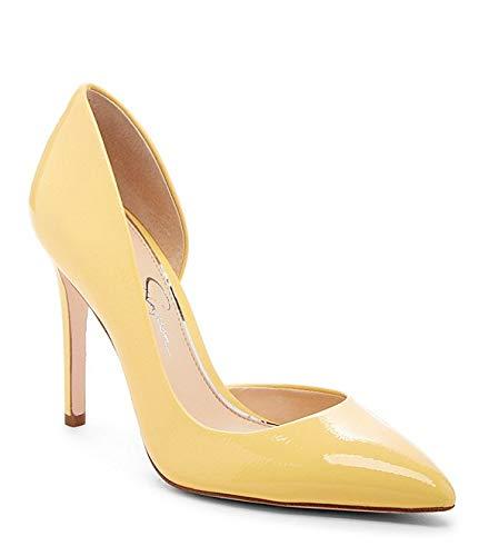 Jessica Simpson Women's PRIZMA Shoe, Pale Yellow, 8.5 M US (Jessica Simpson Yellow Dress)