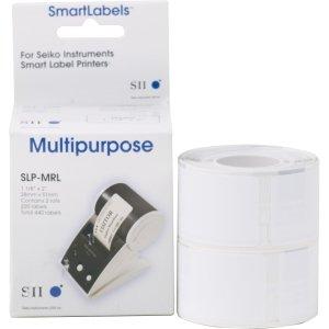 - seiko (smart label printers) slp-mrl 440-labels 1-1/8 x 2 slp-mrl for seiko label printers