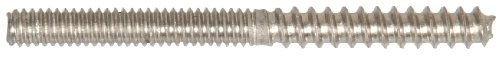 The Hillman Group 707318 Stainless Steel Hanger Bolt, 25-Pack by The Hillman Group