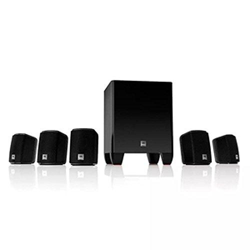 Kit Home Theater JBL Cinema J5100 Sistema 5.1 E Receiver JBL 375W 110V