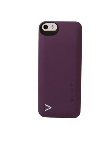 Boostcase Charging Case  for iPhone 5/5S/SE - (1,500 mAh) - Retail Packaging -Purple by Boostcase