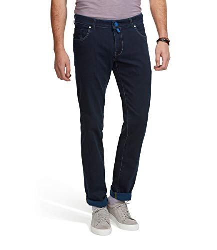 Meyer Men s M5 Slim Super Stretch Jersey Denim Trouser Pants 34 34 Long 005b8c3a5ad4