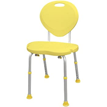 Amazon Com Aquasense Adjustable Bath And Shower Chair