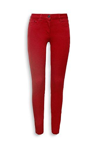 Esprit - Jean Skinny Femmes - 078EO1B001-34 Rouge