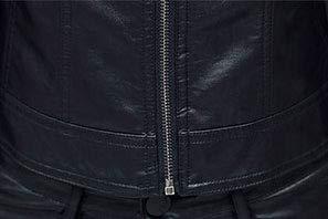 Plain Corto Viaggio Moto Pu Pelle In Lavoro S 5all 3xl Sporty E Slim Autunno Da Primavera Giacca Transizionale Noir Fit Streetwear Donna c86pOqBUOw