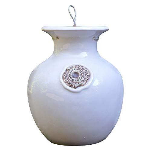 - Ivory Down Under Pot - Large Upside Down Pot