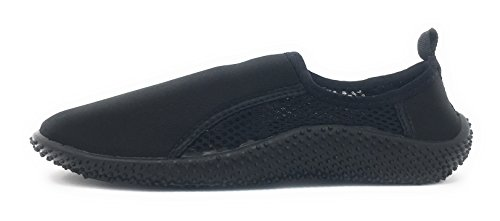 Aqua Black Shoes Kids Waterline Sport 55 qCn76fwtx6