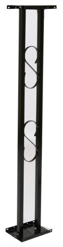 Solar Group APB00000 Aluminum Mailbox Post with Base, Black