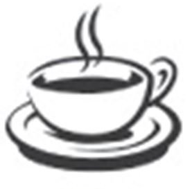 Loyalty Card Self Inking Stamp - Coffee Cup
