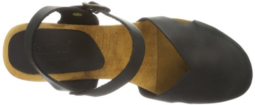 Sanitaire Matrix - Sandalias de tacón Negro (Schwarz (black 2))