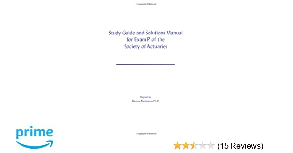 first actuary exam study guide