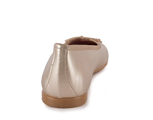 Chamby Zapato Bailarina Orelle Platino