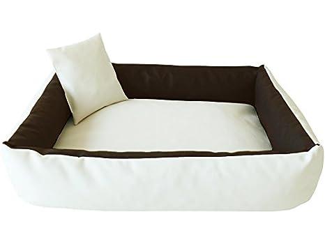 ELMO Perros sofá cama para perros Dormir Espacio Perros Cojín Cesta de piel sintética tamaño: