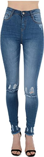Real HOXTON - Jeans - Femme Multicoloured 34 Stone Blue